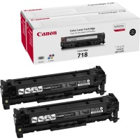 Canon 718Bk Twin Pack