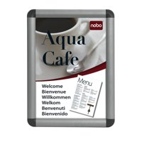 669de160f68 Nobo Clipdown Frame Front Opening A3 Aluminium 1902213