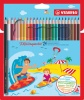 Stabilo Aquacolor Water Colour Pencils PK24
