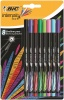 Bic Intensity Fine Assorted PK8