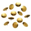 Value Drawing Pins Brassed 9.5mm PK100