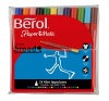 Berol Colour Broad Fibre Tipped 1.7mm Assorted Colours PK24