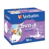 Verbatim DVD Plus R 16X Jewel Case Pack Of 10