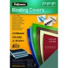 Fellowes FSC Leatherboard Covers A4 Green (Pack 100)