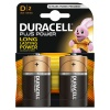D Duracell Plus Batteries PK2