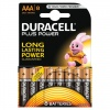 AAA Duracell Plus Batteries PK8