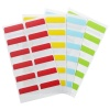 3L Index Tabs Re-positionable 25mm Assorted 10520 (72 Tabs)