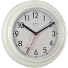 Acctim Stratford Wall Clock 23cm White