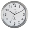 Acctim Mason RC Wall Clock 25cm Aluminium 74337