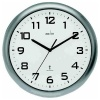 Acctim Cadiz RC Wall Clock 25.5cm Silver 74137