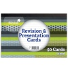 Silvine Revision Note Cards White 152X102mm Pad 50
