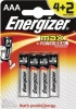Energizer MAX Batteries E92/AAA PK4 Plus 2