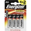 Energizer MAX Batteries E91/AA PK4 Plus 2