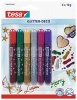tesa Glitter Pens 6 assorted vibrant colours 59900 PK12