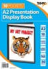 Tiger A2 Presentation Display Book Black 10 Pocket