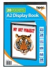 Tiger A2 Presentation Display Book Black 20 Pocket