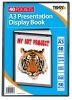 Tiger A3 Presentation Display Book Black 40 Pocket