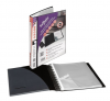 Snopake ReOrganiser Display Book A4 40 pocket Black
