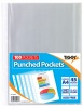 Tiger A4 Punched Pockets PK100