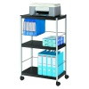 Fast Paper Mobile 3 Shelf Trolley Large DD