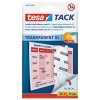 tesa Transparent Tack XL Double sided adhesive pads 36 pads