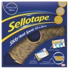 Sellotape Sticky Hook Spots 22mm Yellow 1445185 (125 Spots)