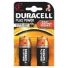 C Duracell Plus Batteries PK2